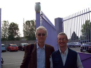 Prof. Capra Fritjof e M° Malnati Pietro (Busto Arsizio, giugno 2014)