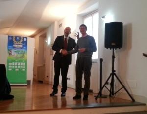 Corrado Genova e Pietro Malnati.dicembre 2014.ok