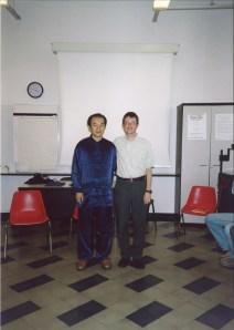 Dr. Sun Junqing e M° Malnati Pietro (Milano, marzo 2005)