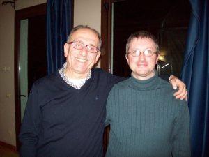Prof. Di Stanislao Carlo e M° Malnati Pietro (Iseo, dicembre 2011)
