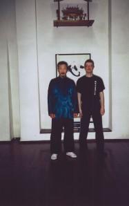 M° Wang Reng Ang e M° Malnati Pietro (Firenze, marzo 2008)