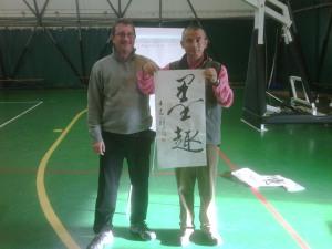 M° Malnati Pietro e Prof. Wang Zhi Xiang (Castronno, novembre 2010)