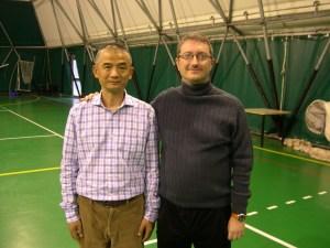 Prof. Wang Zhi Xiang e M° Malnati Pietro (Castronno, novembre 2010)